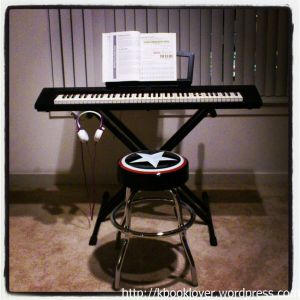 This is my new digital piano, I just love it!
