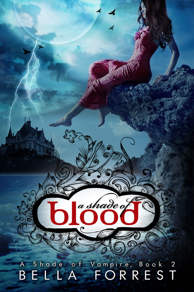 Review: A Shade of Blood (A Shade of Vampire #2) by Bella