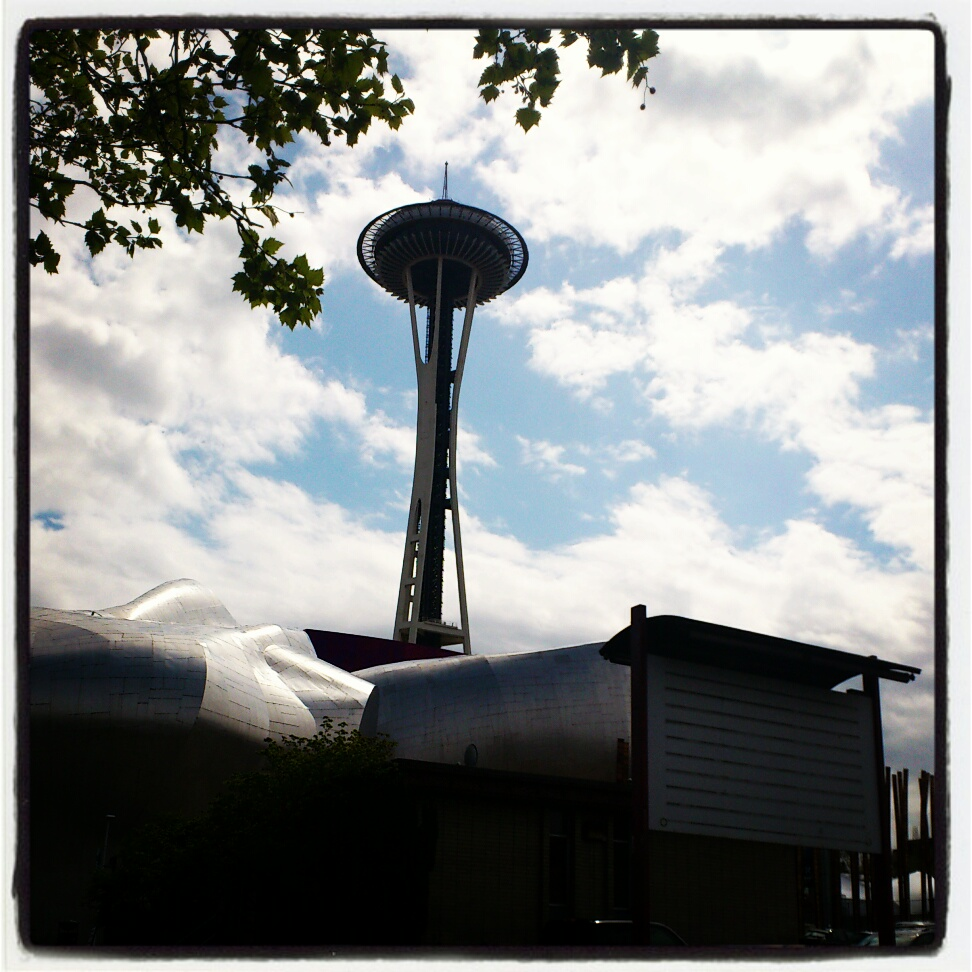 Photography: Space Needle in Seattle, WA